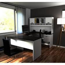 bestar innova u shaped workstation desk bestar innova u shaped workstation in white antigua beyond stores
