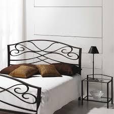 Schlafzimmer Bett Metall Landhaus Bett Ilitalcon In Braun Aus Metall Wohnen De