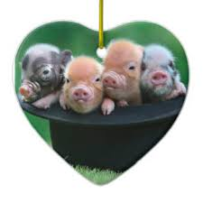 pig ornaments keepsake ornaments zazzle