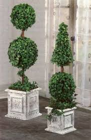 boxwood topiary trees i made them at a fraction of the cost of
