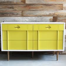 Yellow Console Table Shop Mid Century Modern Console Table On Wanelo