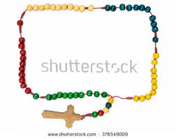 catholic rosary necklace catholic rosary stock images royalty free images vectors