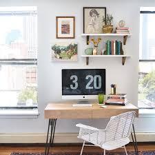 Desks With Shelves by Office Shelves Above Desk Home Pinterest Desks Shelves