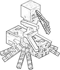 minecraft skins coloring pages kids coloring