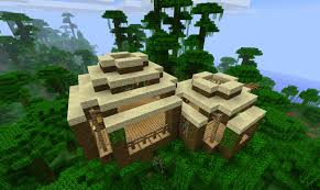 minecraft jungle house ideas