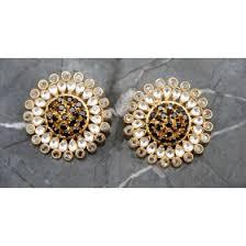 big stud earrings buy big stud earrings online at orne jewels