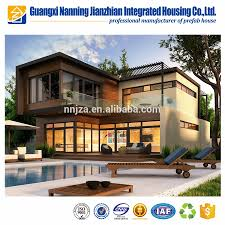 Prefab House by Luxury Light Steel Structure Prefab Mansion Prefabricated House