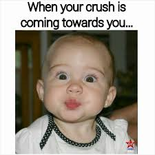 Cute Memes For Your Crush - crush in your vicinity baby crush funny kids you quotes