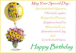 A Happy Birthday Wish Happy Birthday Wishes Christmas Day Wishes Or Messages