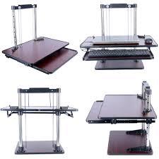 list manufacturers of height adjustable standing desk converter