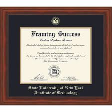 tech diploma frame suny institute of technology diploma frame suny polytechnic