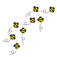 bee clipart flying bumble bee clipart