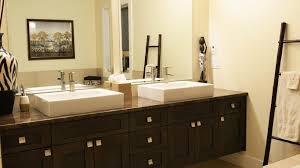Mirror Ideas For Bathrooms Colors Toilet Mirror Design Elegant Black Finish Varnished Wooden Frame