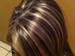 foil highlights for brown hair partial foil blonde highlights trove hairstyles
