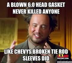 Meme Tie - tie rod