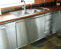 stainless steel kitchen cabinet doors kitchen stainless steel cabinet doors on with regard to ideas ikea