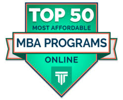 Affordable by Top 50 Most Affordable Online Mba Programs 2018