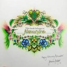 johanna basford magical jungle name page by wendy magical jungle
