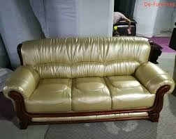Leather Sofa Set For Living Room 1 2 3 Seater Modern Genuine Leather Sofa Set Office Furniture