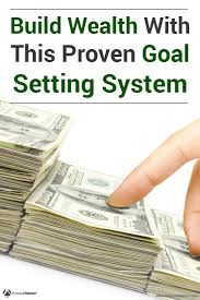a goal setting system to build your wealth