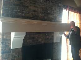 interior excellent living room decoration with white wood shelf