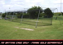discount cimarron 70x14x12 3 0mm braided batting cage net