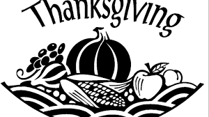 best thanksgiving clip black and white images