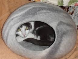 Cat Bed Pattern Felted Wool Cat Bed Pattern Home Design U0026 Architecture Cilif Com