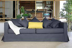 ikea karlstad leather sofa karlstad sofa covers beautiful custom slipcovers comfort works