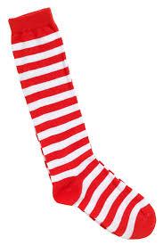 halloween socks kids red and white striped socks costume craze