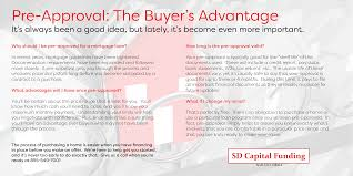 Pre Approval The Buyer U0027s Advantage Sd Capital Funding Corp