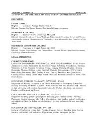 Scanning Clerk Resume Buy Criminal Law Resume