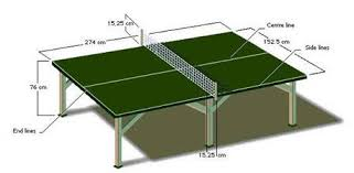 ping pong table dimensions inches stunning dimensions table ping pong gallery joshkrajcik us