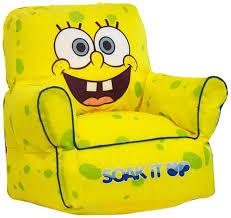 nickelodeon spongebob squarepants toddler bean bag chair walmart com