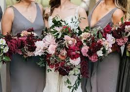 fall wedding bouquets 40 burgundy wedding bouquets for fall winter wedding hi miss puff