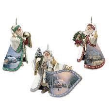 kinkade santa claus heirloom