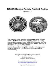 pocket guide version 2 1 united states marine corps united