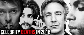 celebrities that died february 2016 the 2016 celebrity death round up 19 coincidences that will blow