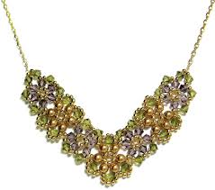crystal necklace patterns images Crystal posy necklace jpg