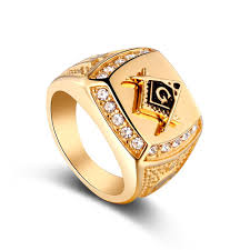 wholesale rings com images Stainless steel freemason ring wholesale cz diamond ring men gold jpg