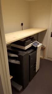 electric printer desk by ikea ikea hackers ikea hackers