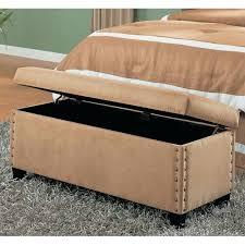 amazing storage bench indoor medium size of bed ottoman bench