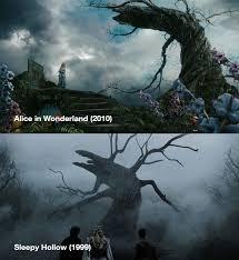 tim burton and the crooked tree imgur