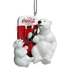 coke polar vending machine ornament coke store