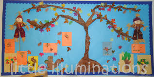 illuminations fabulous fall bulletin boards