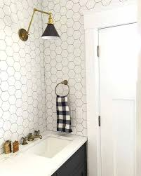 Deko Ideen Hexagon Wabenmuster Modern 39 Stilvolle Hexagon Fliesen Ideen Für Badezimmer U2013 New Garten Ideen