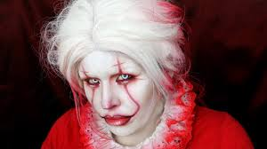 Saw Halloween Makeup by The Clown Makeup Inspired By It And Michael Hussar Halloween 2017