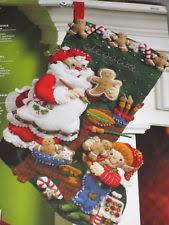 bucilla christmas bucilla felt kit ebay