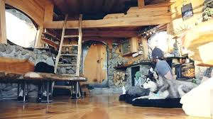 mike basich off grid cabin interior offgrid living pinterest