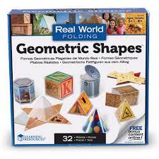 learning resources original folding geometric shapes amazon co uk